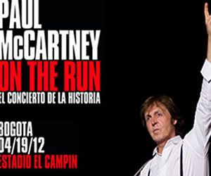 A la espera de Paul McCartney en Colombia