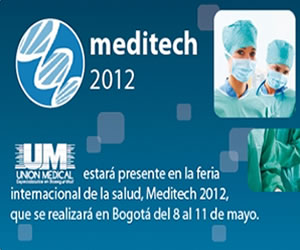 Meditech única feria de salud en Colombia del 8 al 11 de Mayo