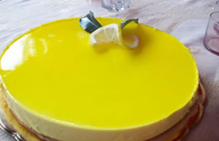 Torta de queso y limón