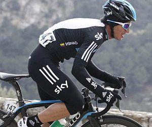 Sergio Luis Henao llegó cuarto y ahora es octavo en el Giro de Italia