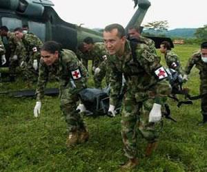 Doce militares mueren en combates en frontera con Venezuela