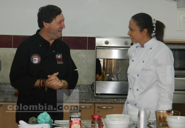 El chef italiano Vittorio Castelini nos muestra lo valioso del café colombiano