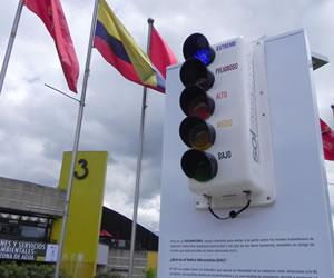 """Bogotá cuenta con el """"Solmáforo"""" un dispositivo que alerta sobre la exposición solar"""