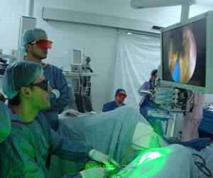 Lo último es el láser verde, lo más seguro para la próstata