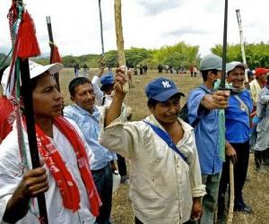 Protestan en España a favor de los indígenas del Cauca