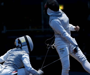 La jornada olímpica de los colombianos en imágenes