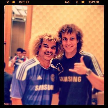 Jugador del Chelsea cumplió el sueño de tomarse una foto con el 'Pibe'