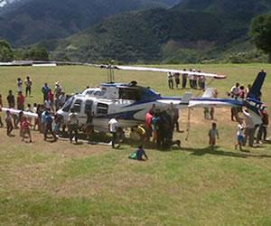 FARC liberan dos pilotos civiles que tenían en su poder