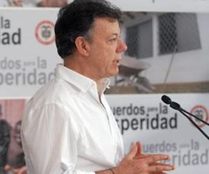 Presidente Santos habla de la captura de alias 'Sebastián'