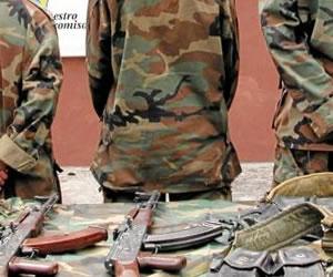 Capturan a 22 guerrilleros de las Farc en Ituango, Antioquia