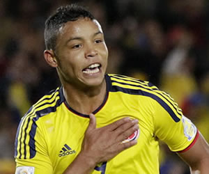 Luis Muriel no estará con Colombia en eliminatorias