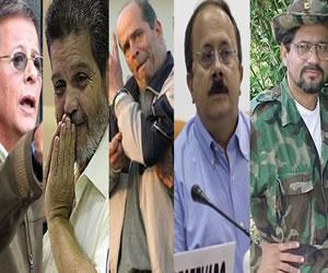 Los voceros de las Farc en negociaciones de paz