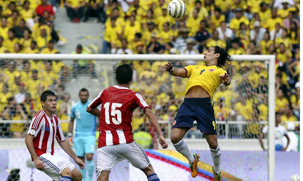 Las mejores imágenes de Colombia ante Paraguay