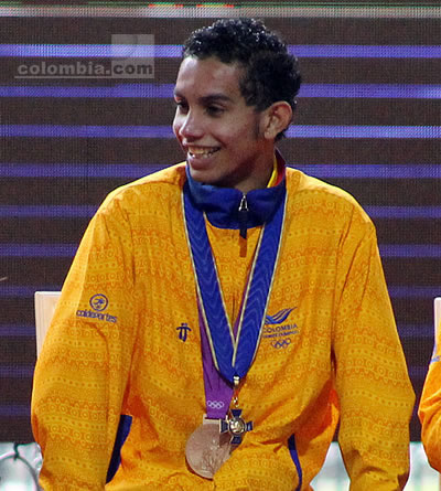 El medallista olímpico Oscar Muñoz. Foto: Interlatin