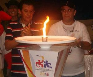 Por el Mar Caribe llegó el fuego deportivo a Córdoba