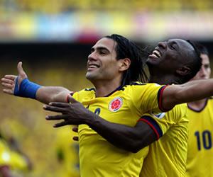 Colombia asciende al octavo puesto en la clasificación FIFA