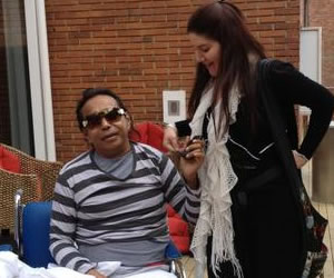 Diomedes Díaz pasa de nuevo por el quirófano
