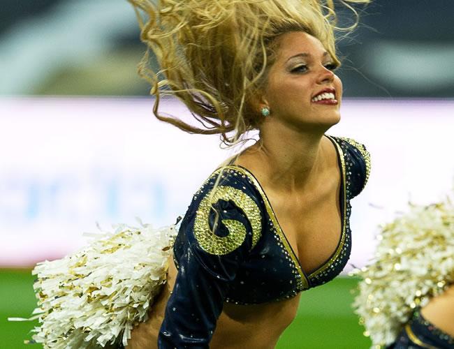 El colorido de las 'Cheerleaders' de la NFL