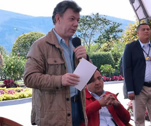 Pte. Santos hace llamado para poner fin a paro judicial