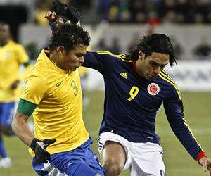 Colombia y Brasil cierran el año con igualdad en Nueva Jersey