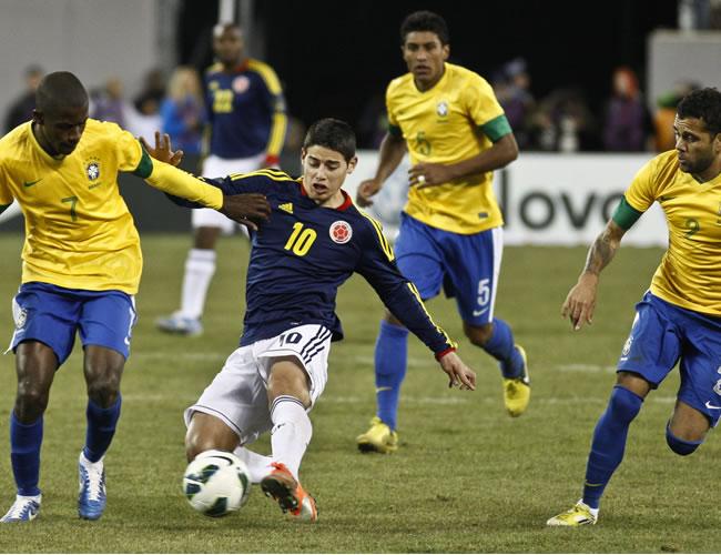 El Colombia-Brasil fue lo más destacado de la fecha FIFA