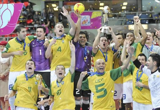 Brasil se corona pentacampeona tras ganar a España en una ajustada final