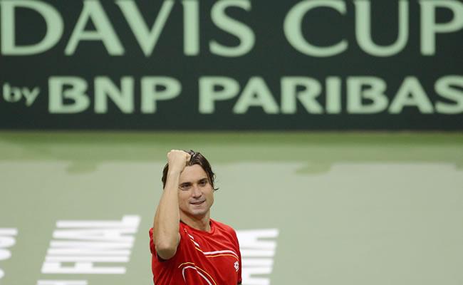Ferrer le gana a Berdych y forzó el quinto partido en final de la Copa Davis