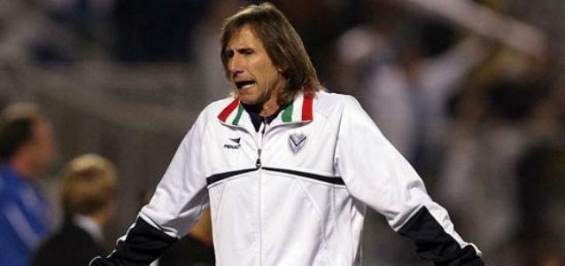 Vélez Sarsfield quiere retener al entrenador Ricardo Gareca