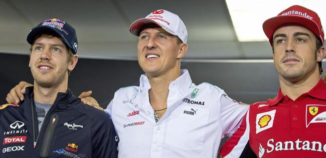 Alonso y Vettel se juegan el 'tricampeonato' más joven en São Paulo