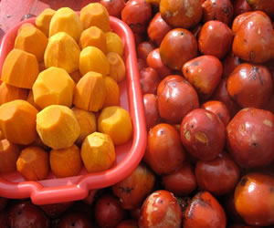 Conoce los beneficios nutricionales del Chontaduro