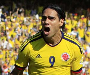 Falcao quiere a una Colombia 'protagonista' en Brasil 2014