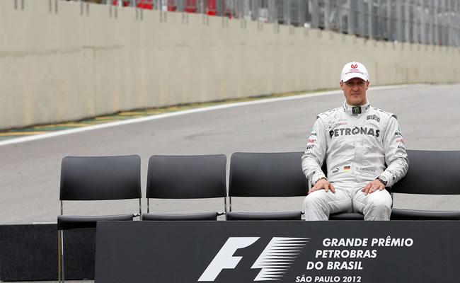 Se despide Michael Schumacher