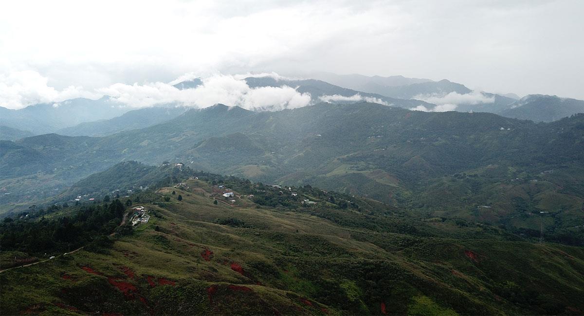 Se llama farallones a las formaciones montañosas más jóvenes de la cordillera occidental. Foto: Shutterstock