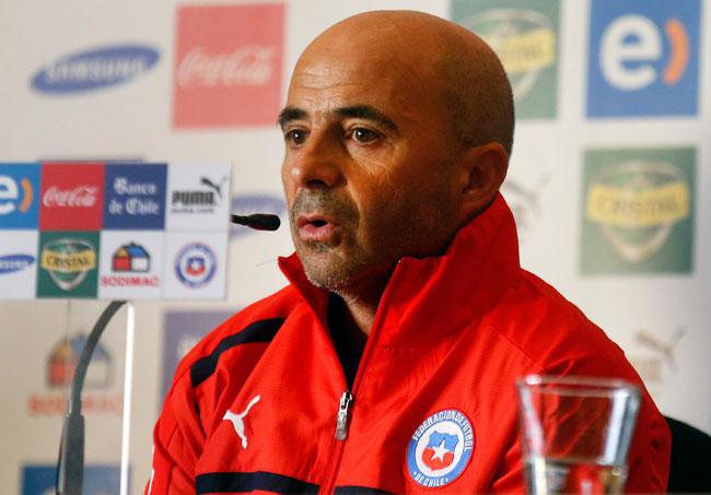 Sampaoli asume el reto de llevar a Chile al Mundial de Brasil