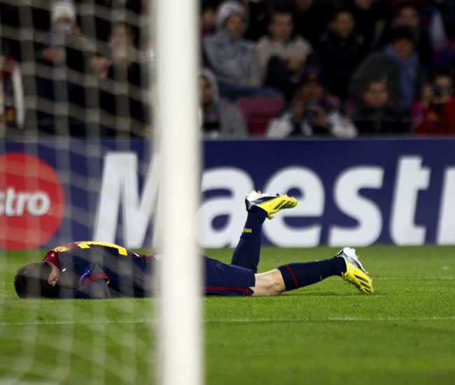 Benfica congela al Barça y la lesión de Messi, el Camp Nou
