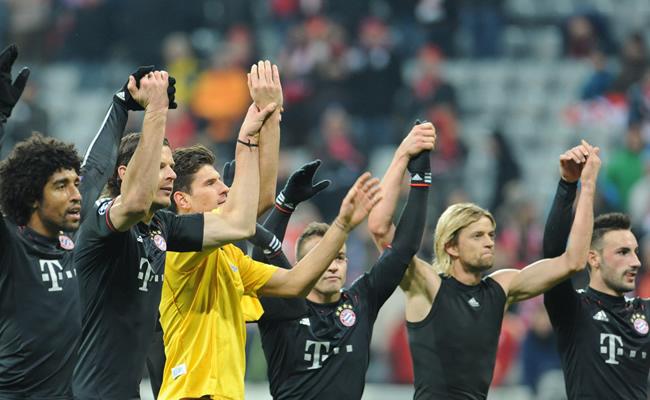 Bayern se desquita con goleada al BATE y es primero de grupo