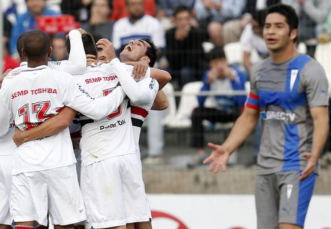 Sao Paulo apuesta al ataque para ganar su primer título en la Sudamericana