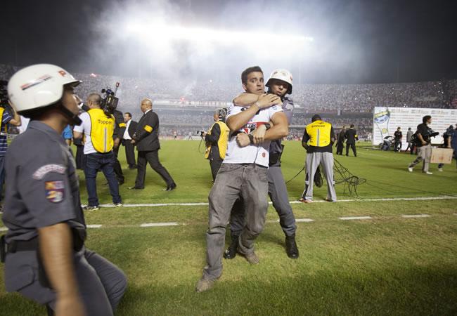 Triste conclusión en la Copa Sudamericana 2012