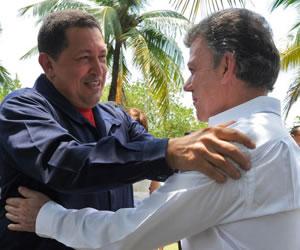 Santos califica a Chávez de 'fundamental' en proceso de paz