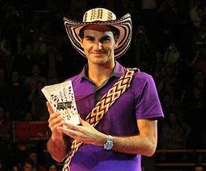 Federer y la magia de un ídolo que hizo vibrar a Bogotá