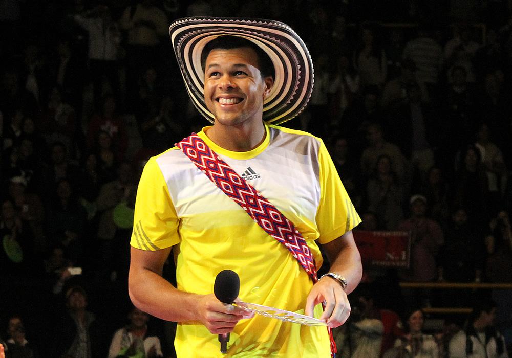 Inolvidable noche de tenis en Bogotá con Federer y Tsonga