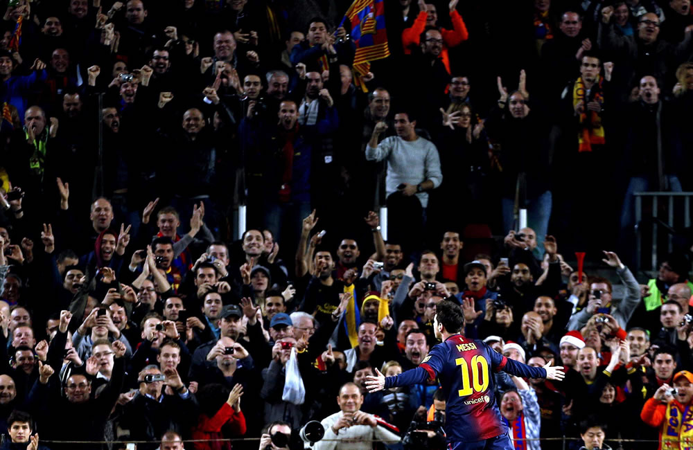 Messi le ganó el duelo de goleadores a Falcao