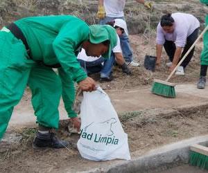 Ciudad Limpia prestará servicio de aseo en dos localidades