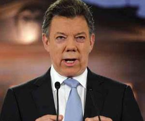 El presidente Santos pide disculpas a los gramaloteros