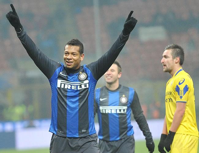 Fredy Guarín vuelve a ser figura con Inter