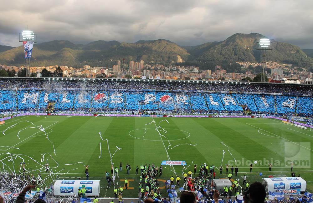 En El Campín se vivió la gran final del fútbol colombiano