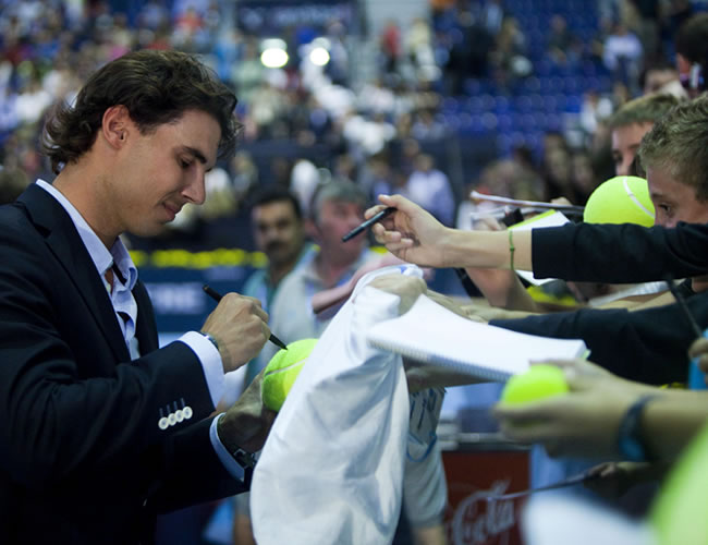 Rafael Nadal está listo para competir en Abu Dabi