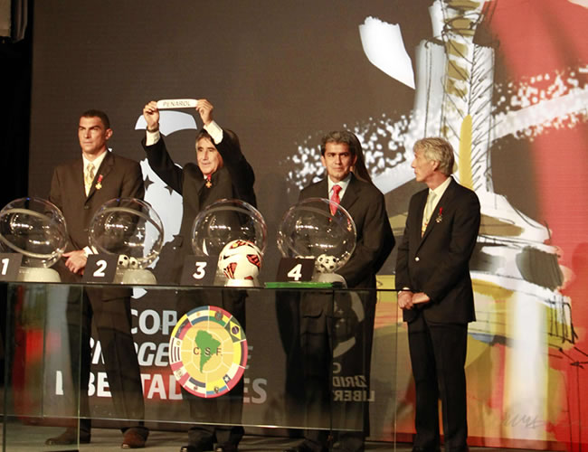 La Conmebol programa la edición 54 de la Copa Libertadores
