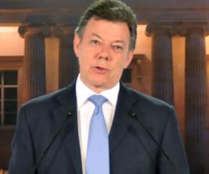 Santos destaca avances en seguridad y empleo, pero lamenta fallo de La Haya