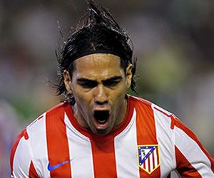 Caminero agradece a Falcao por lo que ha hecho con Atlético